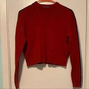 Brandy Melville Red Jessica Sweater